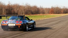 Watch And Listen To This Beastly Corvette At The Air Strip