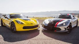 2015 Chevrolet Corvette Z06 vs. 2016 Dodge Viper ACR  – Head 2 Head Ep. 72