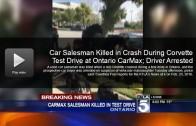 Car salesman killed in crash during Corvette test drive