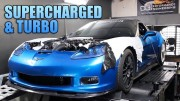 1500 HP Corvette ZR1 Keeps Factory Supercharger, Adds Massive Turbo