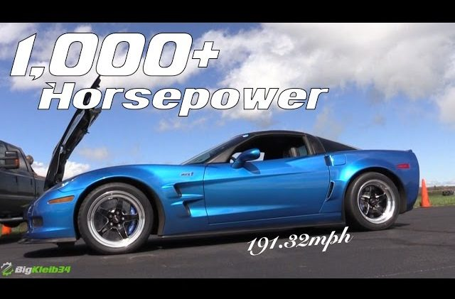 INSANE C6 Corvette ZR1 Takes LS9 Top Speed Record!