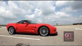 Juan Pablo Montoya Ride Along in C6 Corvette ZR1