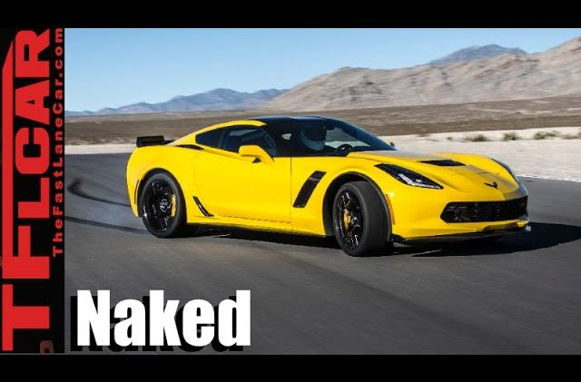 Naked Corvette Exposed: How & Why GM Uses Light Weight Materials in the C7 Stingray