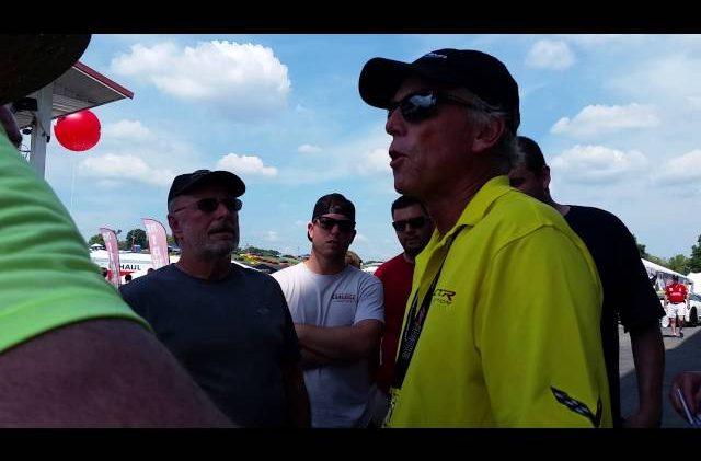 Corvette Chief Engineer – Tadge Juechter Explaining Cooling Changes to the 2017 Corvette Z06