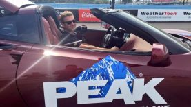 Watch Clint Bowyer show you how fast Watkins Glen really is in a C7 Corvette