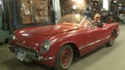 Iowa Man Gives Life to a 1954 Corvette for First Time in 40 Years