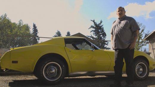 Tom Nali and his 1976 Corvette