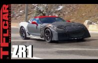 2018 Chevy Corvette ZR1 Prototypes Spied Testing in the Mountains