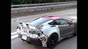 2018 Chevrolet Corvette ZR1 shows huge rear wing in video