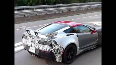 2018 Chevrolet Corvette ZR1 shows huge rear wing in video