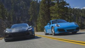 2017 Corvette Grand Sport Takes on the Porsche 911 Carrera S