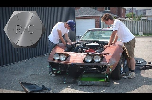 Reidus and Cletus Bring a Dilapidated 1970 Corvette Back to Life