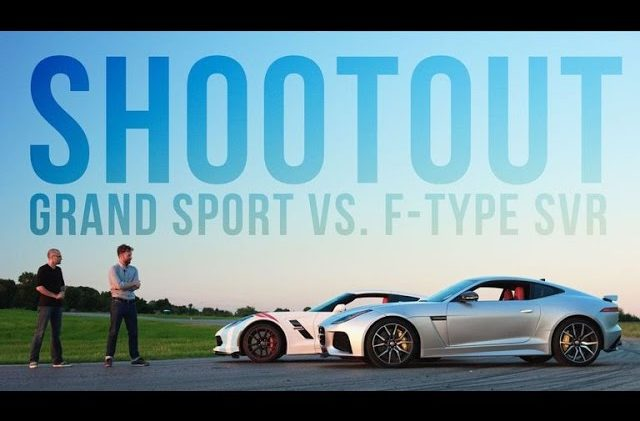2017 C7 Corvette Grand Sport Goes Up Against the Jaguar F-Type SVR