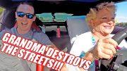 Grandma Drives 900hp Corvette! BURNOUTS and PULLS!