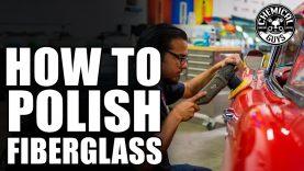 How To Polish Fiberglass -1962 Red Corvette – Chemical Guys Car Care