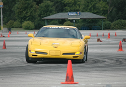 C5 Z06 Corvette Autocrossing