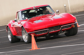 C2 Corvette Autocrossing