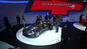 Geneva Motor Show 2013: Corvette Stingray Convertible Reveal