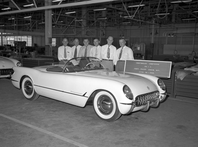 A Historical Perspective of the Corvette from 1953 to 2009