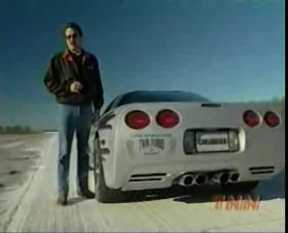 Car and Driver 1999: Lingenfelter Corvette Twin Turbo Road Test