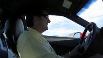 Ron Fellows Driving a 2009 Corvette ZR1