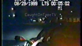 Corvette Backs Into Police Cruiser