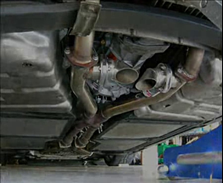 C5 Corvette Z06 Exhaust Cutouts