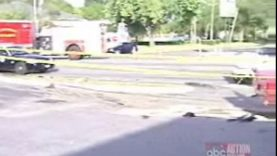 Deadly Corvette accident leads to neighborhood chase