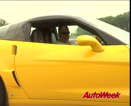 Jim Mero Making Donuts with a 2009 Corvette ZR1