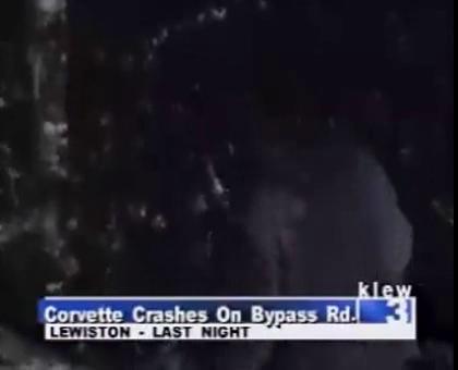 C3 Corvette Crash in Lewiston, Idaho