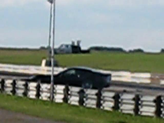 SIR – New C6 Z06 Corvette hits Guardrail