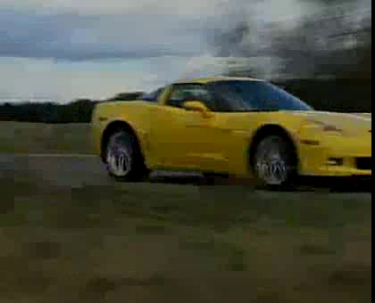 C6 Corvette Z06 video by GM