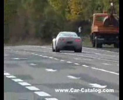 2005 C6 Corvette Prototype Testing in Europe
