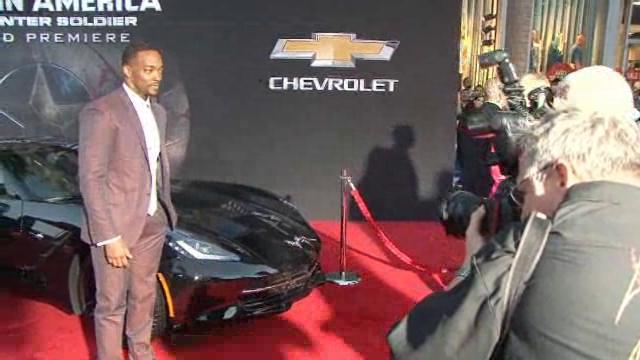"Black on Black Corvette Stingray Stars in ""Captain America: The Winter Soldier"""
