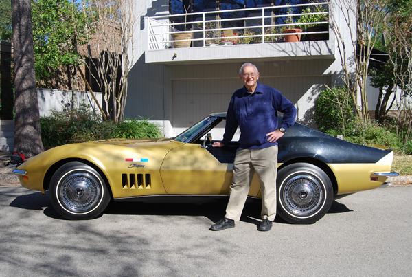 1969 Corvette Driven by Astronaut Alan Bean