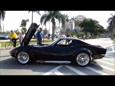 Supercar Weekend West Palm Beach Black 1972 C3 Corvette