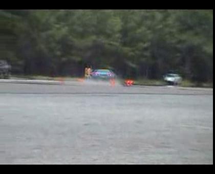 C4 Corvette ZR-1 Autocrossing