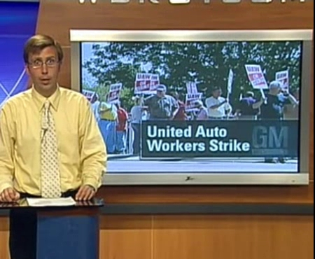 UAW Members Picket at Bowling Green Corvette Assembly Plant – 2007