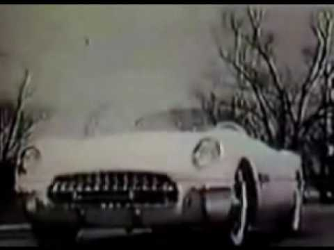 1953 Corvette Vintage TV Commercial Ad