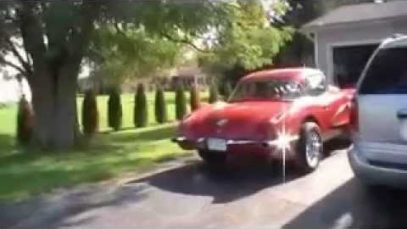 1959 Corvette Gasser tearing it up before a long winter