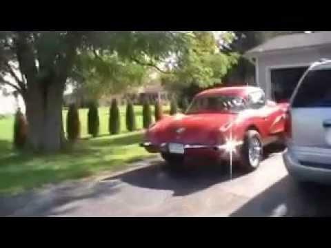 1959 Corvette Gasser tearing it up before a long winter