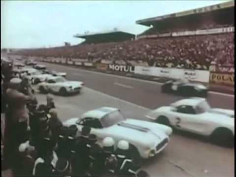 1960 24hrs of Le Mans Corvette Documentary