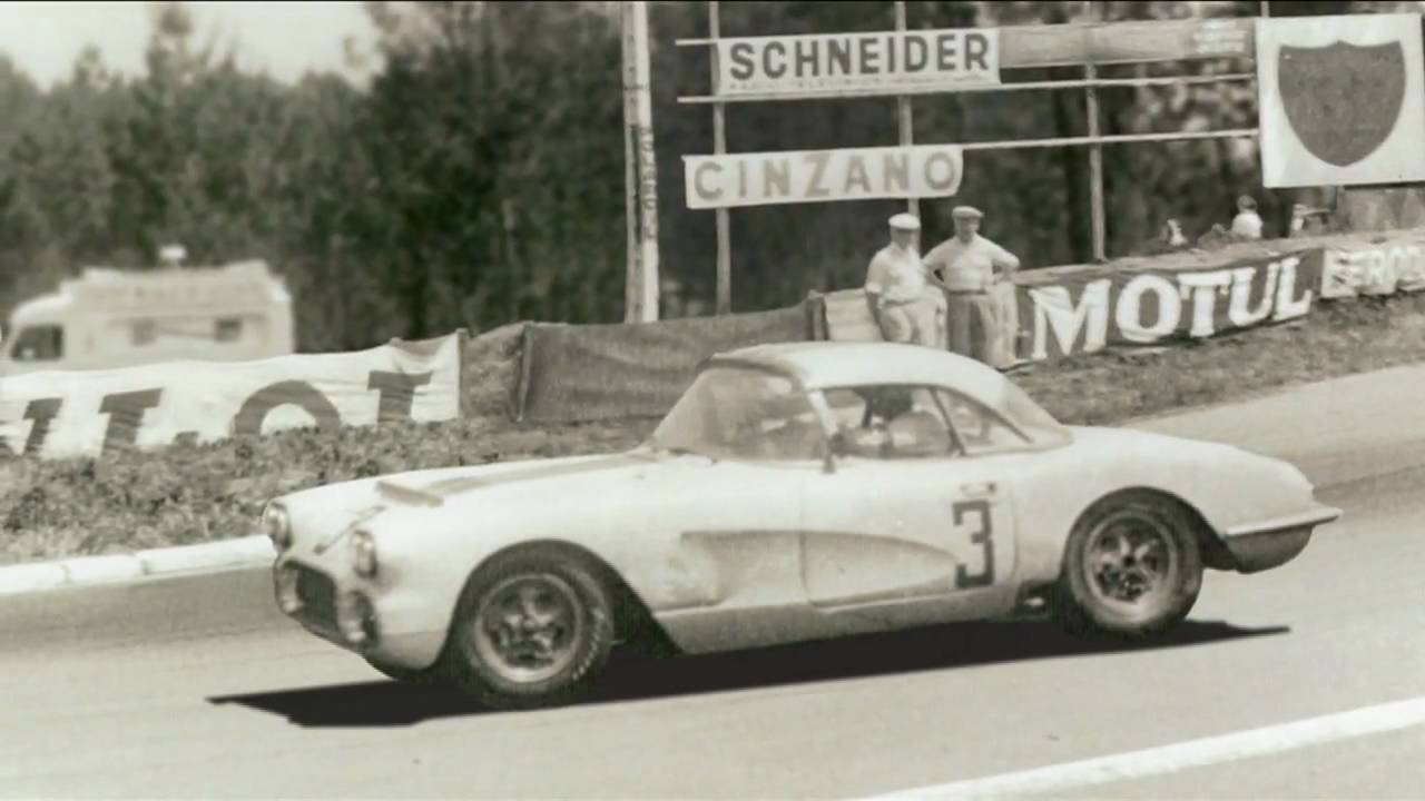 1960 #3 Le Mans Corvette Historic Return Documentary Trailer