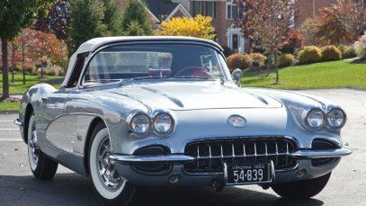 1960 Chevrolet Corvette Convertible $137,500 SOLD!