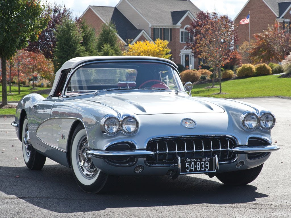 1960 Chevrolet Corvette Convertible $137,500 SOLD!