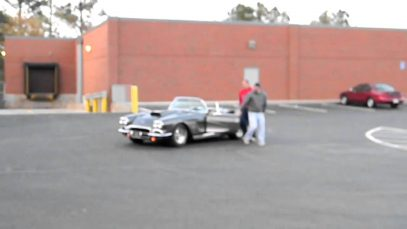 1962 Corvette Burn Out Dough Nuts