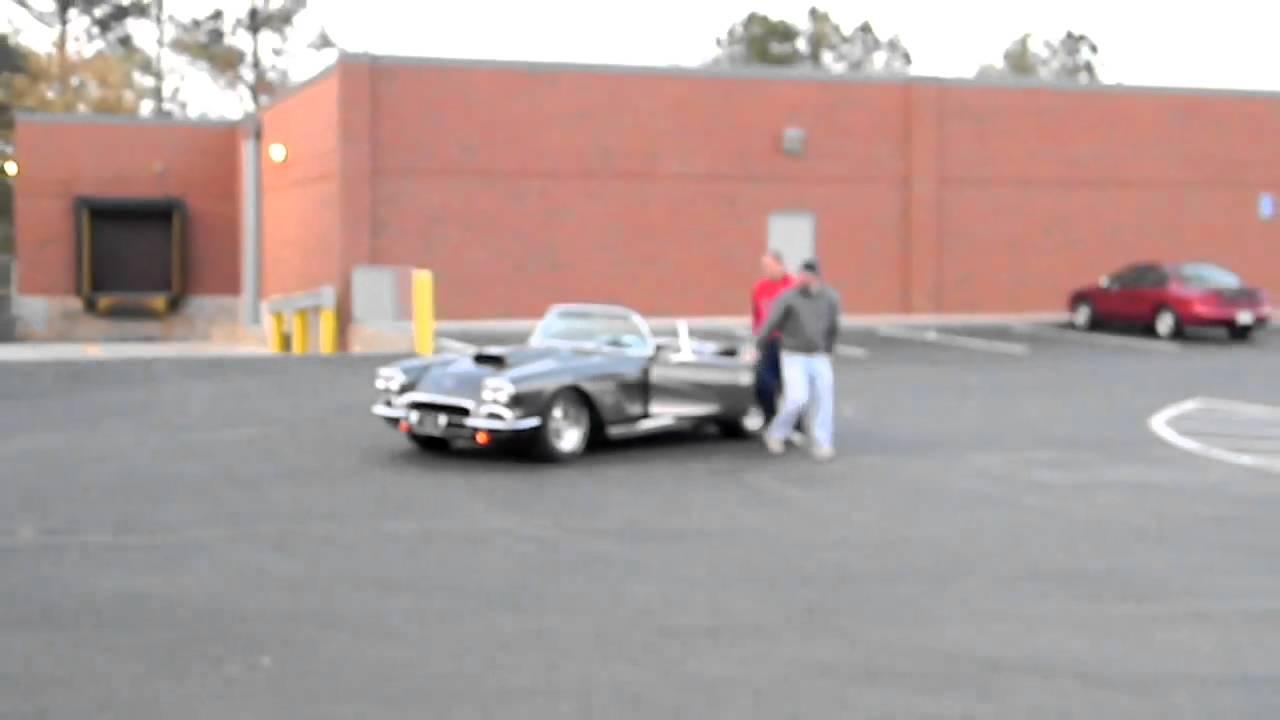 1962 Corvette Burn Out Dough Nuts