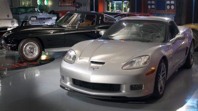 1963 Chevrolet Corvette Sting Ray vs. 2007 Chevrolet Corvette Z06 – Generation Gap