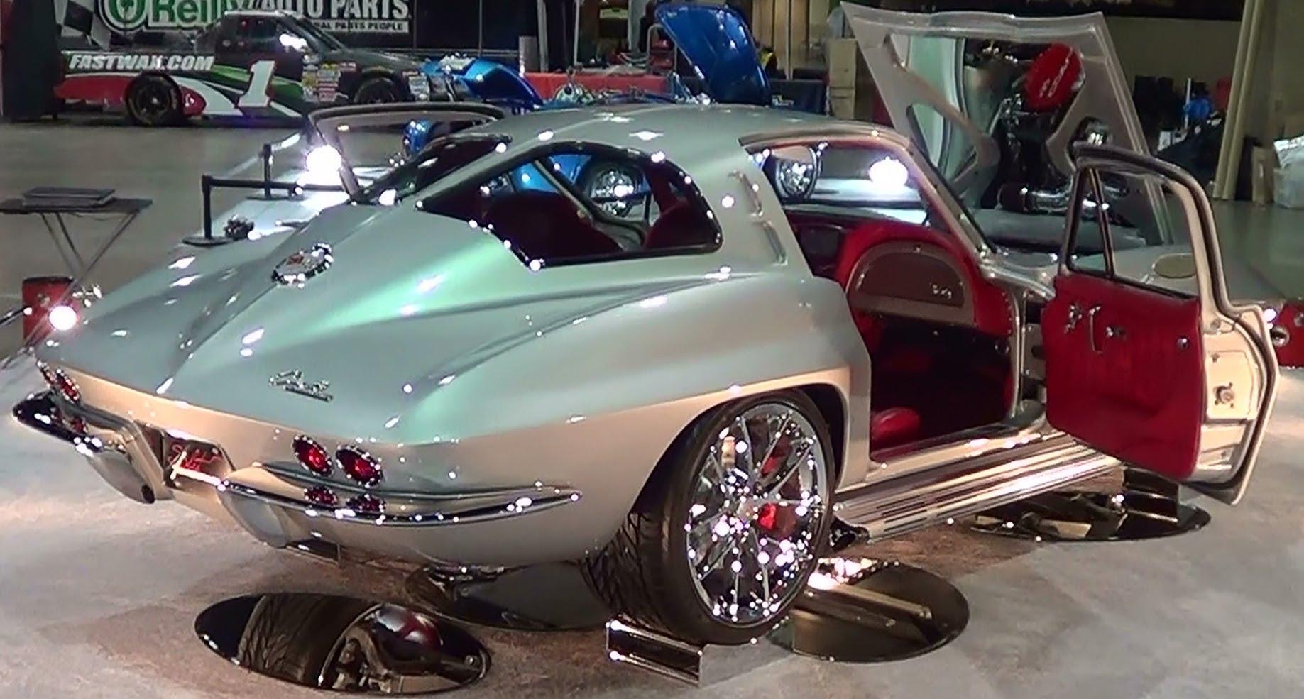 Pro Stock Corvette : Corvette quot split personality vettetube