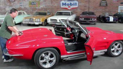 1963 Corvette Split Window Convertible (Top removal)